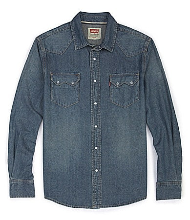 Levi�s Sawtooth Denim Shirt