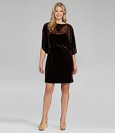 Jessica Simpson Woman Batwing Dress