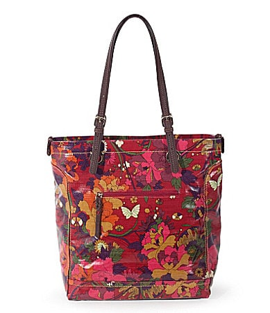 Sakroots Artist Circle Top Zip Tote