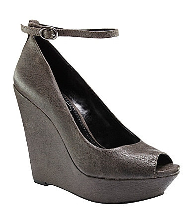 Jessica Simpson Stacy Ankle-Strap Wedges