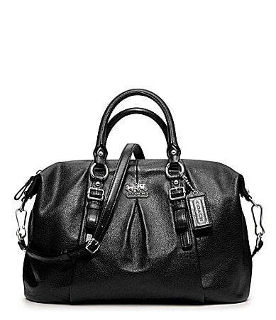 COACH MADISON LEATHER JULIETTE SATCHEL