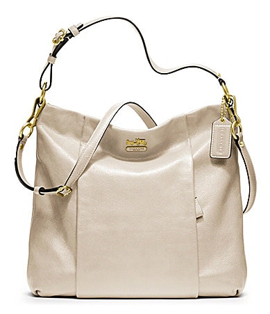 COACH MADISON LEATHER ISABELLE CONVERTIBLE HOBO