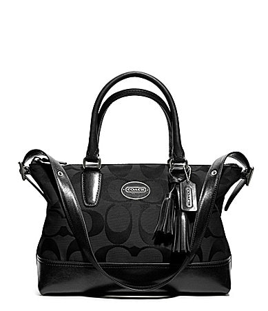 COACH LEGACY SIGNATURE MOLLY SATCHEL