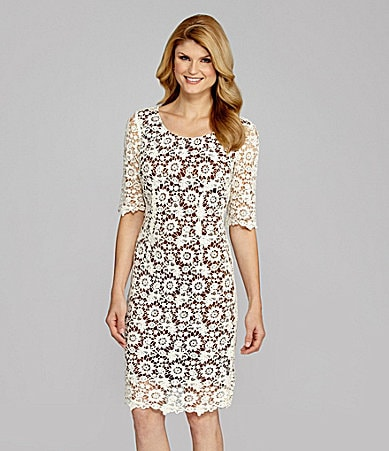 Antonio Melani Wanita Floral Lace Dress