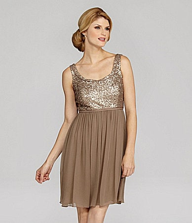 Antonio Melani Splendid Sleeveless Sequin Dress