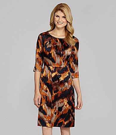 Antonio Melani Jaquelle Animal-Print Shift Dress