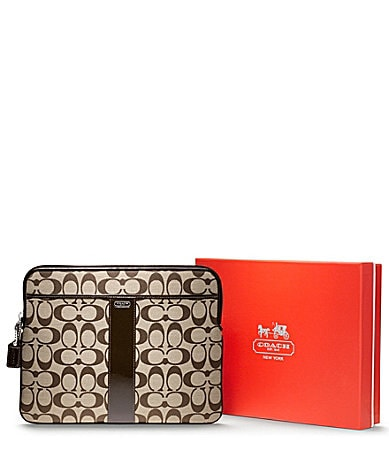 COACH SIGNATURE UNIVERSAL SLEEVE