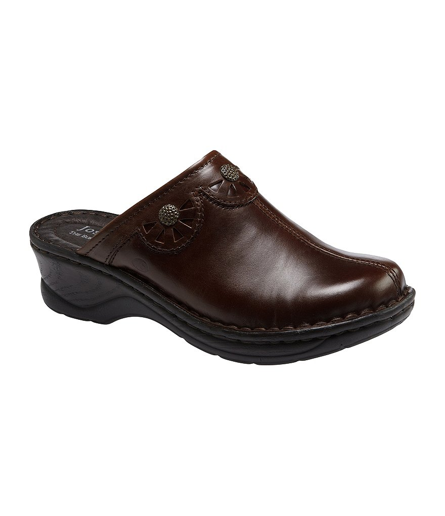 Josef Seibel Catalonia 23 Leather Clogs
