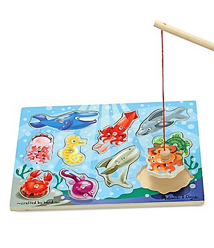 Melissa & Doug Magnetic Fishing Puzzle Game