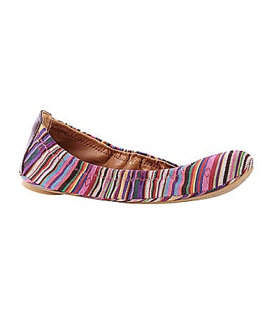 Lucky Brand Emmie Striped Ballet Flats