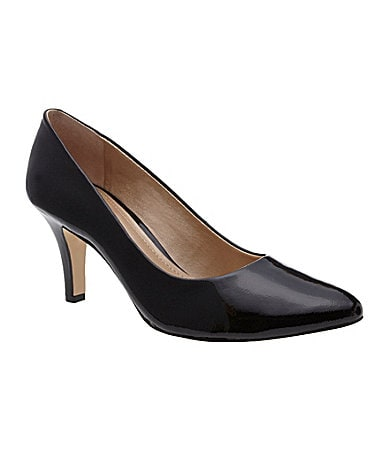 Alex Marie Viola Patent Pumps
