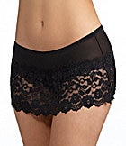 Cabernet Cheeky Lace Flirty Skirt