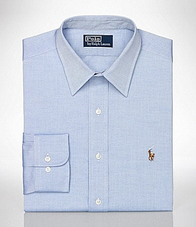 Polo Ralph Lauren Classic-Fit Andrew Pinpoint Oxford Dress Shirt