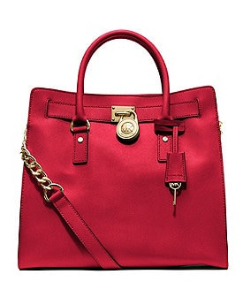 MICHAEL Michael Kors Large Hamilton North/South Saffiano Leather Tote Image