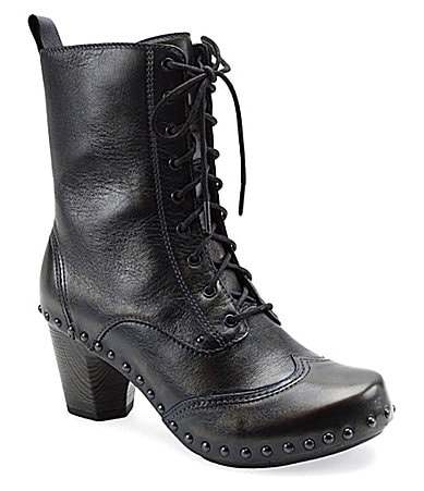 Dansko Nat Lace-Up Boots