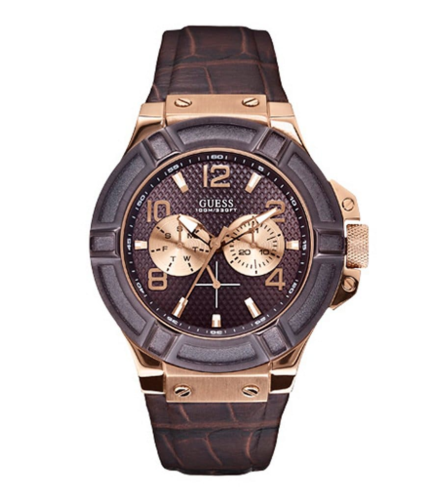 Guess Men's Rugged Casual Sport Watch