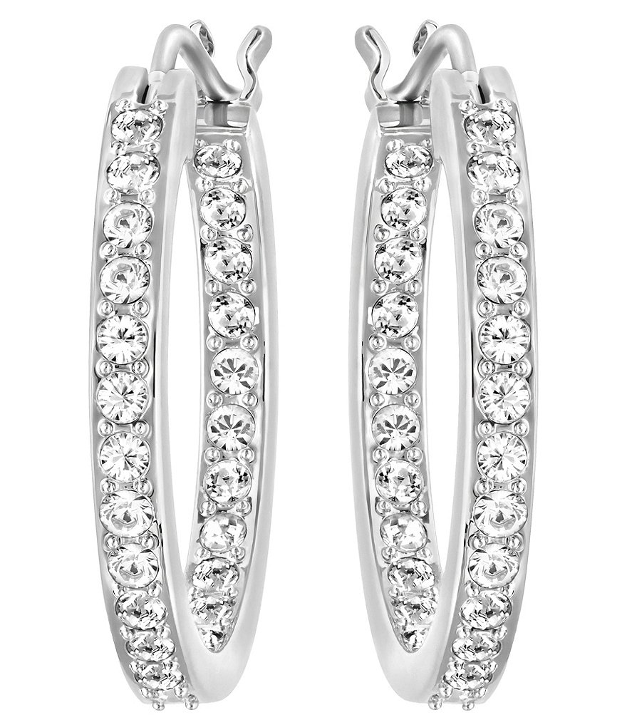 Swarovski Somerset Hoop Pierced Earrings