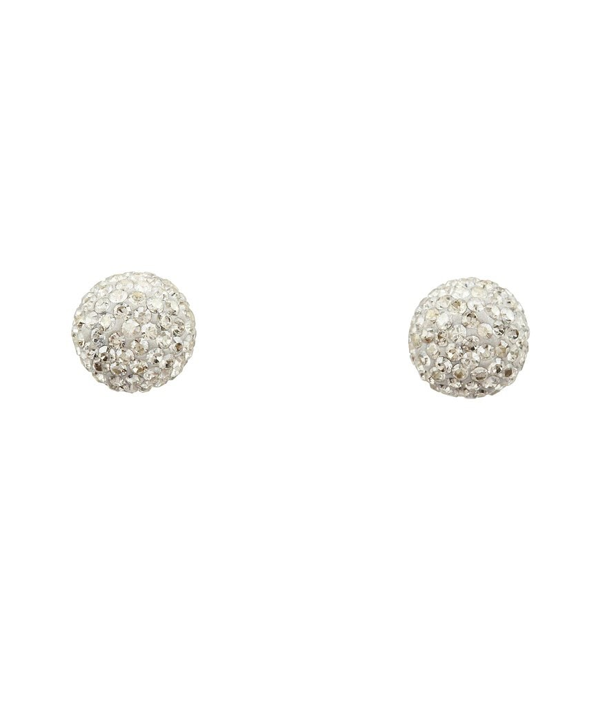 Swarovski Blow Silver Shade Stud Earrings