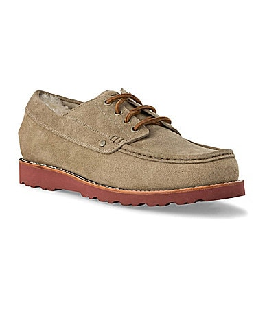 UGG Australia Men�s Grattan Suede Oxfords