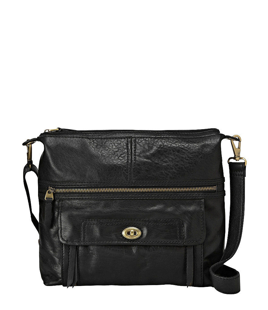 Fossil Stanton Top Zip Cross-Body Bag