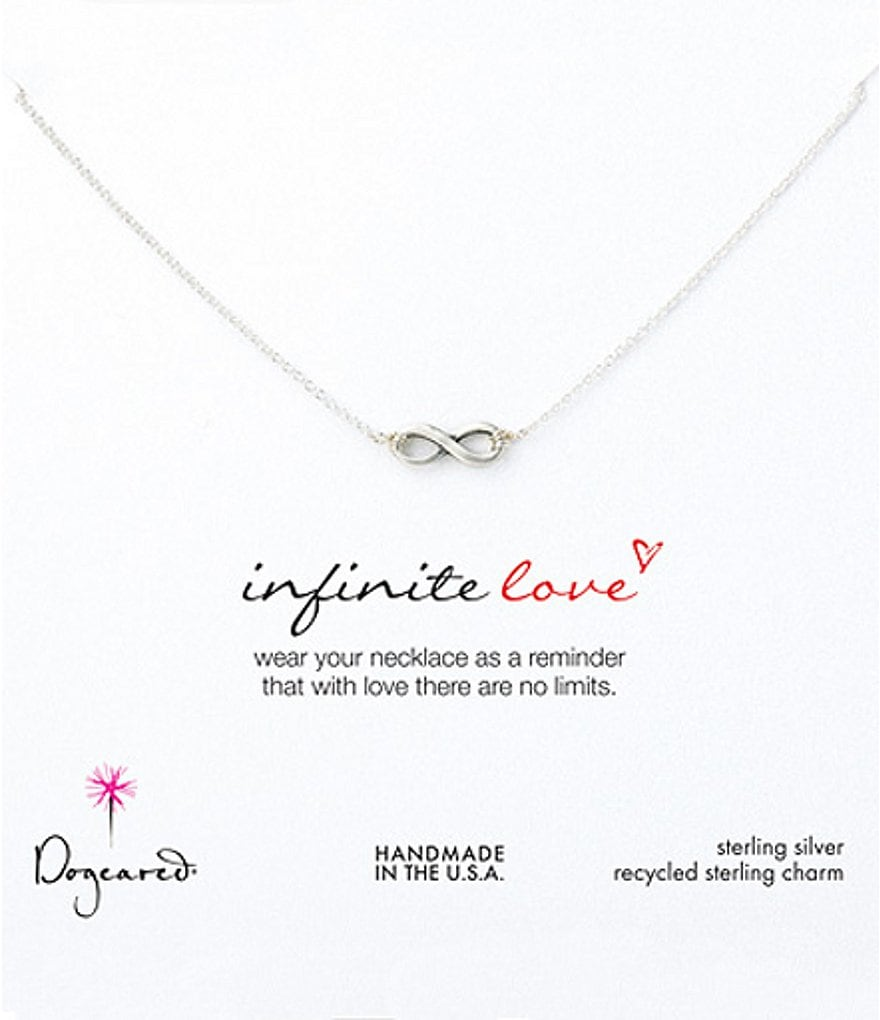 Dogeared Infinite Love Delicate Necklace