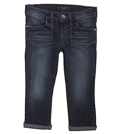 Jessica Simpson Tweenwear 7-16 Roll Cuffed Cropped Jeans