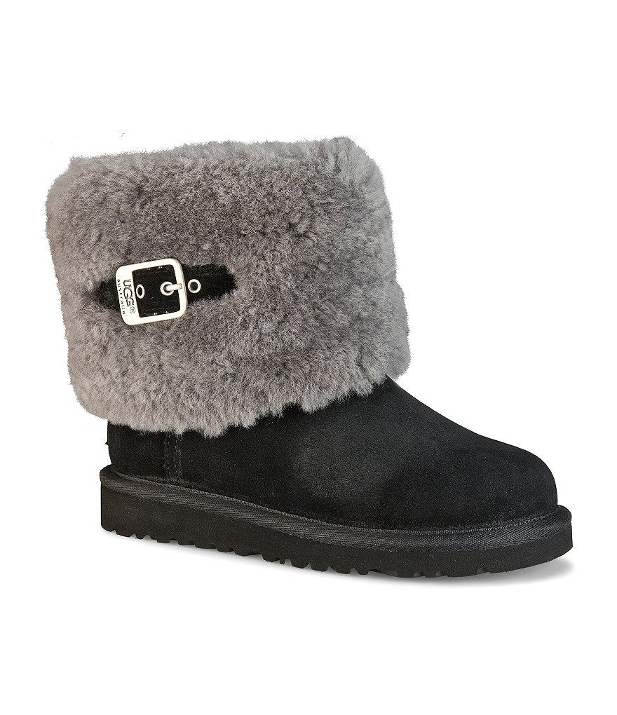 UGG®Ellee Fleece-Collar Boots