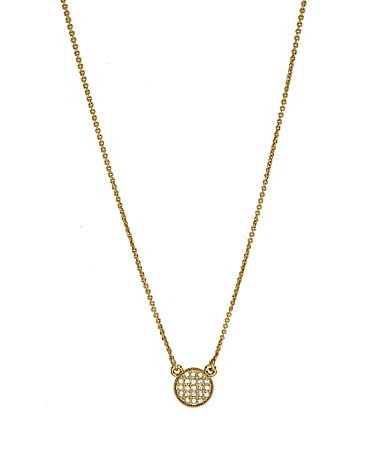 kate spade new york Bright Spot Mini Pendant Necklace
