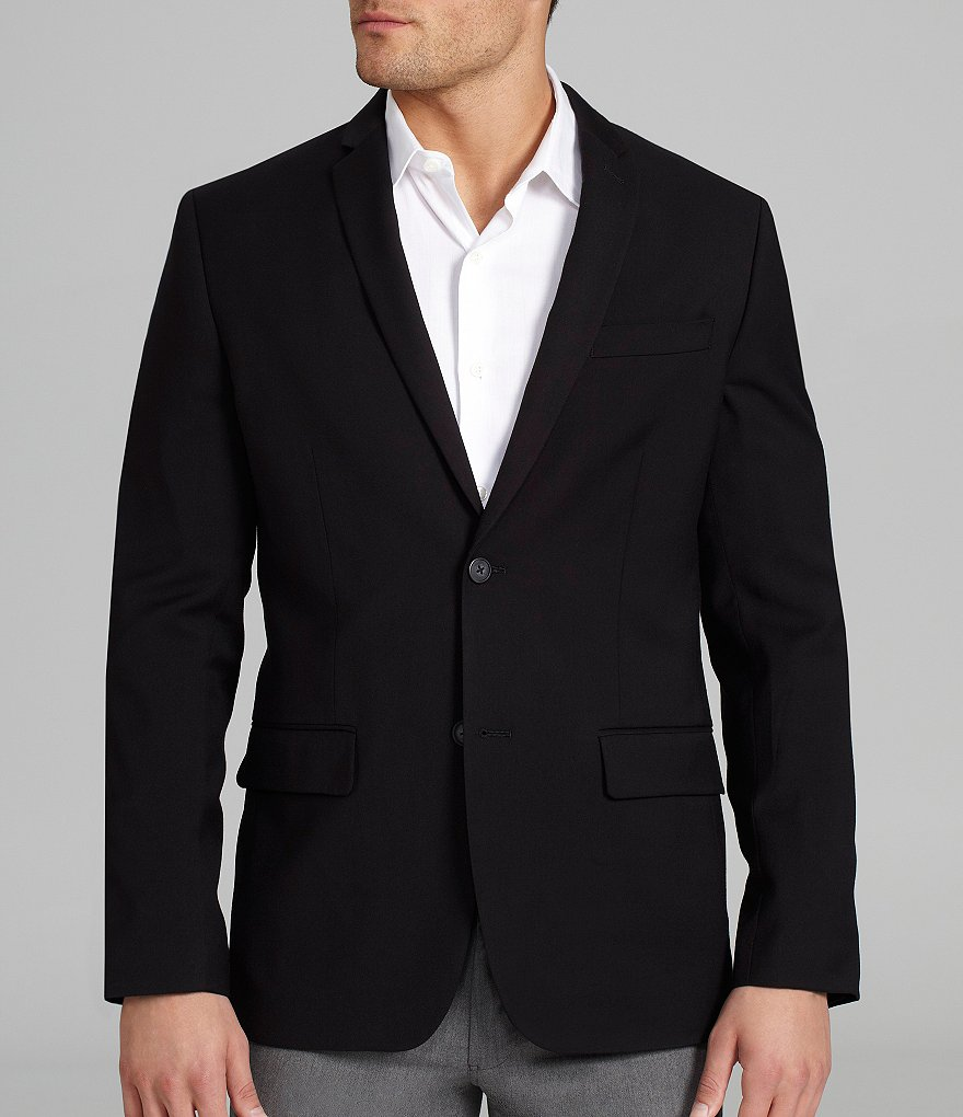 Perry Ellis Slim-Fit Solid Jacket