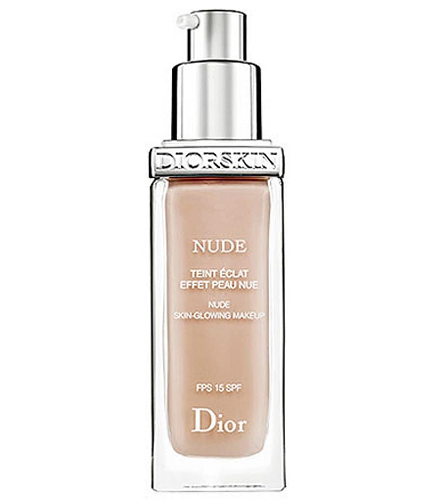 Dior Diorskin Nude Nude Skin-Glowing Makeup With Sunscreen Broad Spectrum SPF 15