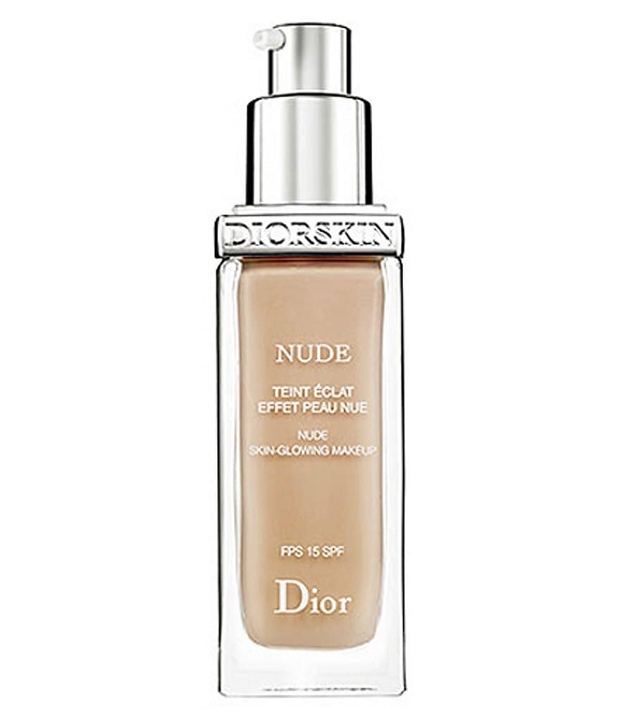 Dior Diorskin Nude Skin-Glowing Makeup With Sunscreen Broad Spectrum SPF 15