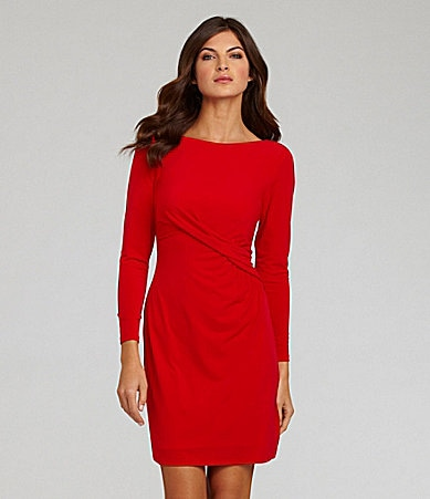 Vince Camuto Boatneck Knit Dress