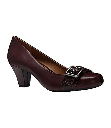 Michelle D Cecelia Leather Pumps