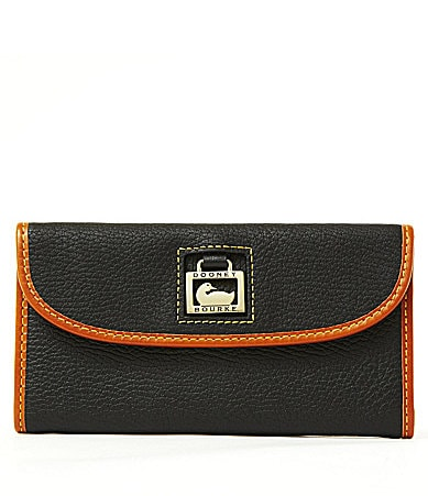 Dooney & Bourke Pearly Python Continental Clutch Wallet