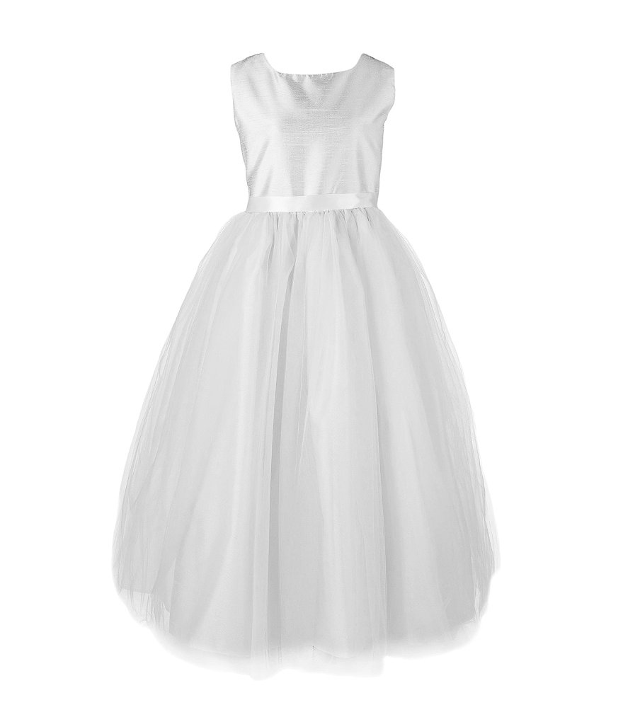 Pippa & Julie Little Girls 2T-6X Shantung Ballerina Dress