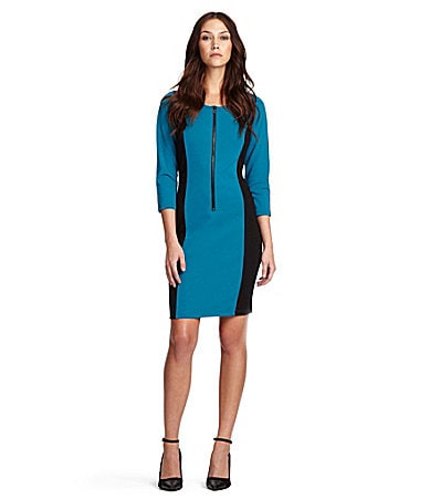 Kenneth Cole New York Lauren Ponte Dress