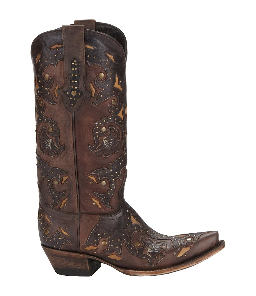Lucchese Since 1883 Studded Scarlett Boots
