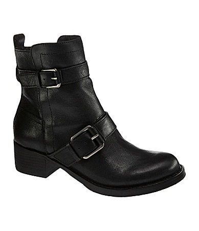 Lucky Brand Hanae Leather Booties