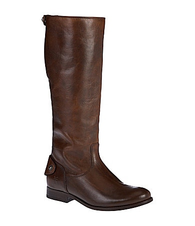 Frye Melissa Button Back Zip Boots