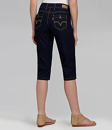 Levi�s 529 Styled Denim Capri Pants