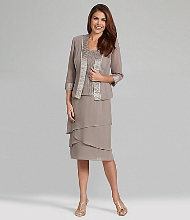 Le Bos Tiered 3-Piece Skirt Set