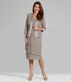 Le Bos Tiered 3 Piece Skirt Set S L Fashions