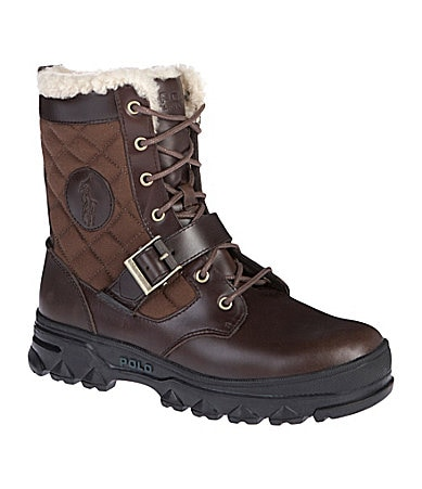 Polo Ralph Lauren Men�s Hayward Quilted Boots