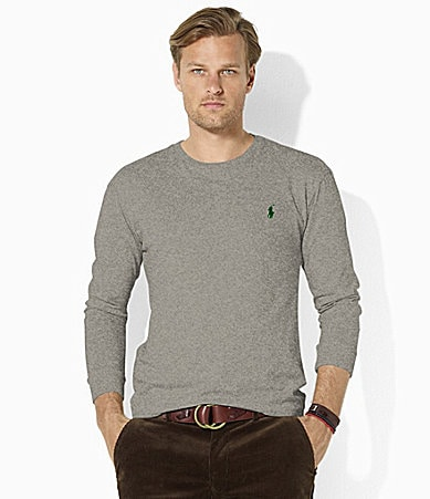Polo Ralph Lauren Medium-Fit Long-Sleeve Cotton Jersey Crewneck T-Shirt