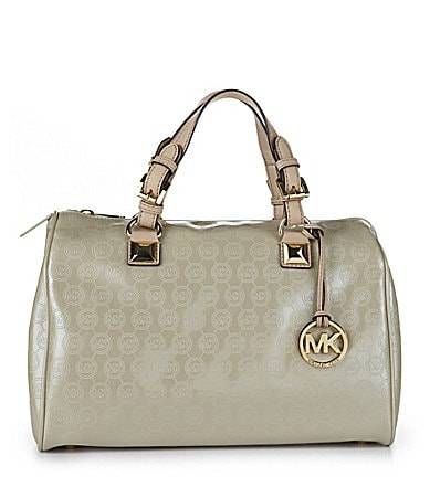MICHAEL Michael Kors Signature Grayson Satchel Bag