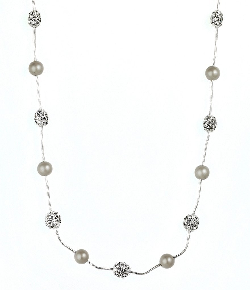 Anne Klein Pearl Illusion Necklace