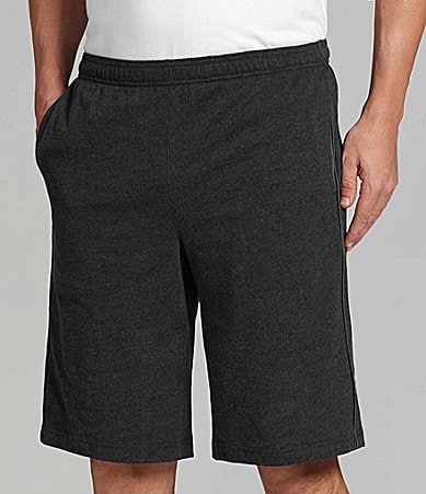 "Roundtree & Yorke Sport 11"" Cotton Blend Shorts"