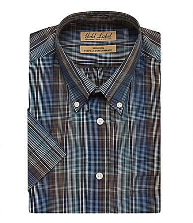 gold label roundtree and yorke short sleeve