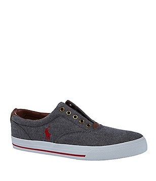 Polo Ralph Lauren Vito Laceless Slip-On Sneakers