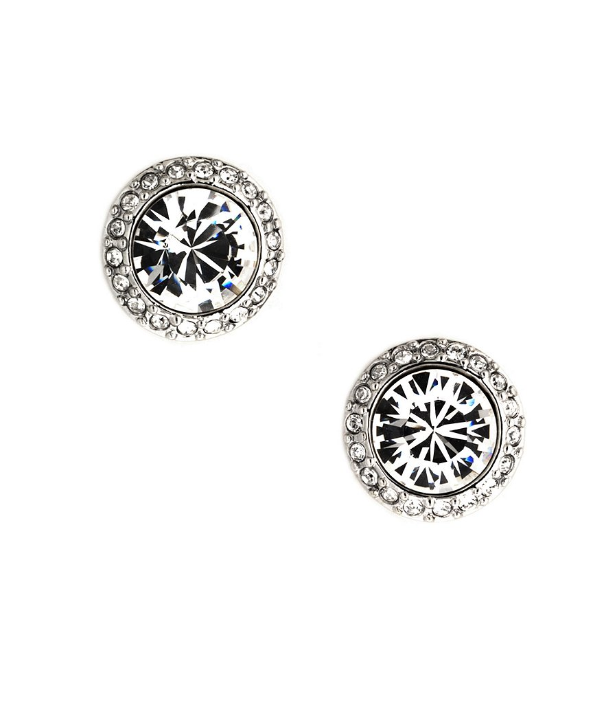 Givenchy Taylor Pavé Stud Earrings